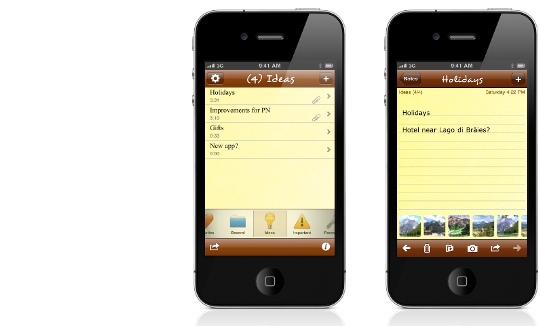 Pocket Notes Slider